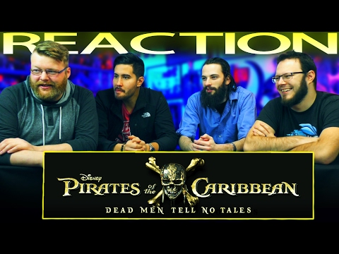 Pirates of the Caribbean: Dead Men Tell No Tales Official Trailer #2 REACTION!!