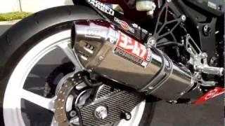 2010 Kawasaki  ninja 250r mods yoshimura hotbodies woodcraft, carbon hugger