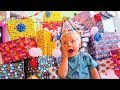 BIRTHDAY PRESENT SURPRISE ROULETTE CHALLENGE REAL GIFTS VS FAKE Ollie's 4th Birthday Special