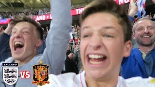 England vs Spain *VLOG* - DE GEA IS A DIVING CHEAT