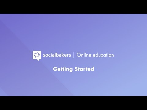 Getting Started with Socialbakers Suite