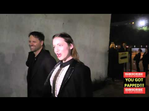 Sarah Bolger talks about St Patricks Day arriving to Arena Cinema in Hollywood