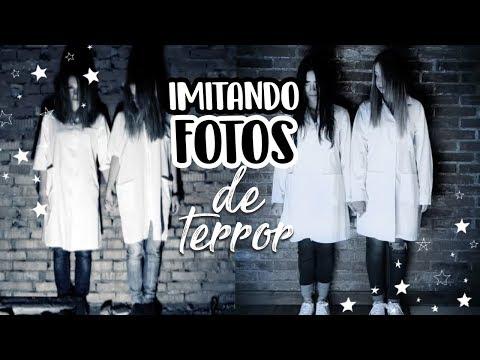 Imitando FOTOS de TERROR ft. @Paulettee  ♡ Nancy Loaiza