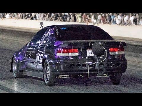 950hp Civic Underdog vs. Nitrous Mustangs!