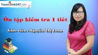 Ôn tập kiểm tra 1 tiết - Vật Lí 6 (Học kì 2) - Giáo viên : Nguyễn Thị Loan