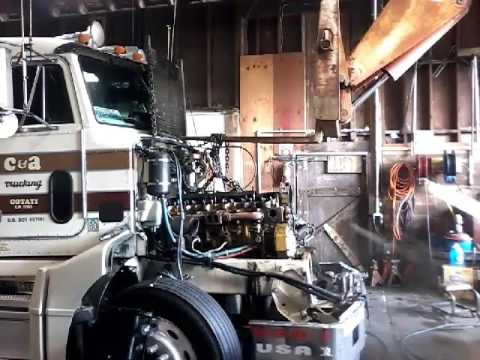 Cylinder Head Removal 3406E Cat