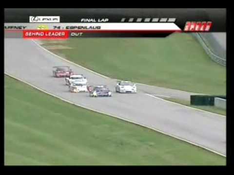 Virginia Int Raceway  - Last 2 laps of the Grand Am Race