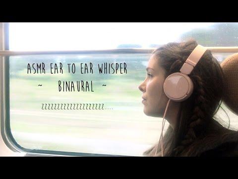 ASMR Ear to Ear Binaural whisper ~ BINAURAL ~ Northern Catalonia Trip to Perpignan!