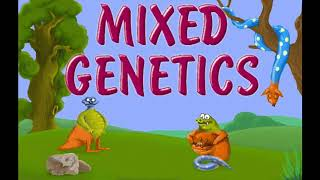 Mixed Genetics - Splash - Microsoft Entertainment Pack: The Puzzle Collection (OPL3)