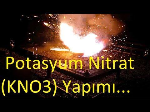 Potasyum Nitrat Yapımı
