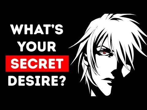 What's Your Hidden Desire? A True Personality Test