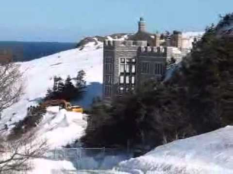 Castle in Newfoundland - YouTube