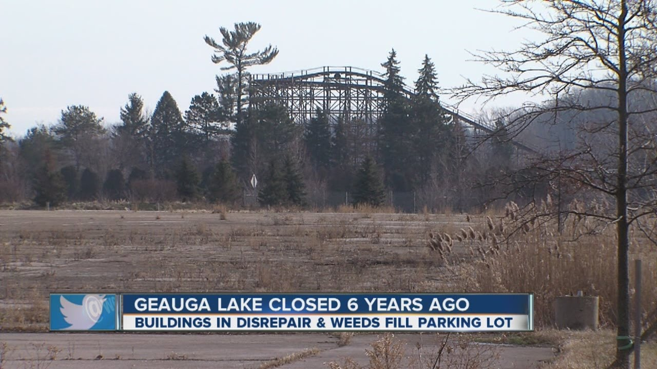 Geauga Lake Park Now An Eyesore Youtube
