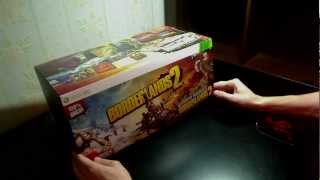 Распаковка/Unboxing Borderlands 2 Ultimate Loot Chest  X360
