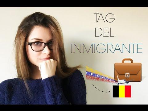 TAG DEL INMIGRANTE VENEZUELA - BELGICA   MissChamelionn