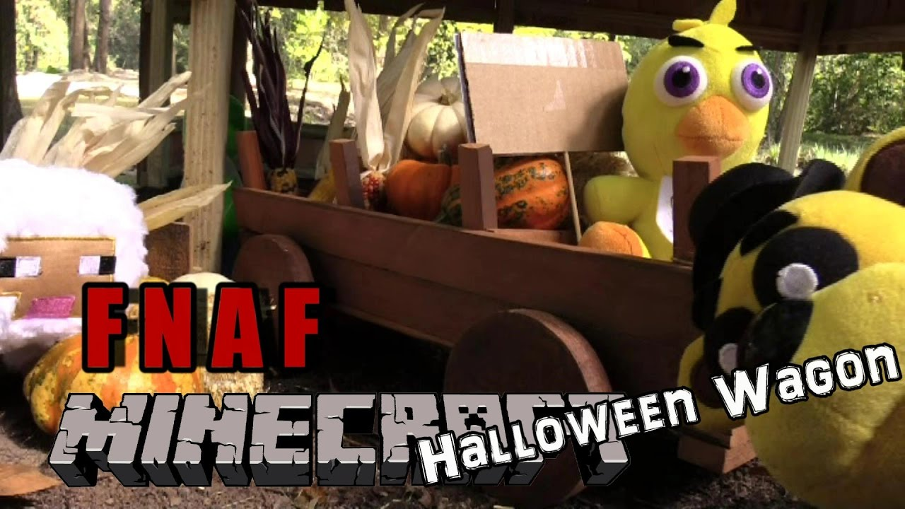 Download FNAF plush Minecraft 11 - Halloween Wagon