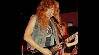Megadeth's Dave Mustaine interview 1984