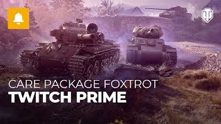 Care Package Foxtrot with Twitch Prime [World of Tanks]
