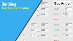 Betfair trading - Using the advanced Dutching calculator on Bet Angel