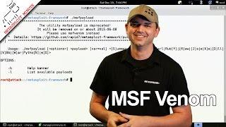 MSF Venom - Metasploit Minute