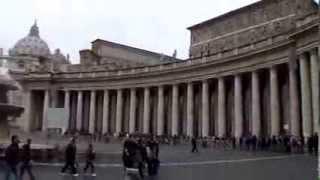 Музыкальная прогулка по Ватикану (Roma - Vatican, Ватикан, итальянская музыка)(Моё видео с Итальянской музыкой из тура