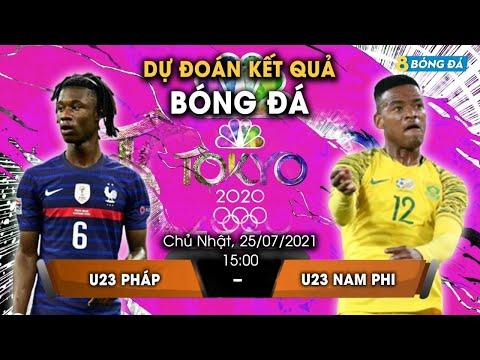 SOI KÈO, NHẬN ĐỊNH BÓNG ĐÁ HÔM NAY U23 PHÁP VS U23 NAM PHI 15h, 25/7/2021 - OLYMPIC TOKYO