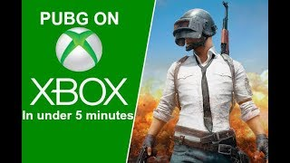 Whats PUBG like on XBOX ONE in under 5 minutes