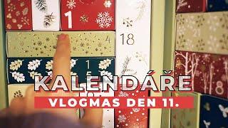 VLOGMAS DEN 11. | Doháníme adventní kalendář.