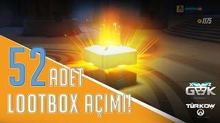 Overwatch 52 Adet LootBox Açılımı!