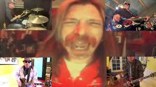 Jesse Hughes from Eagles Of Death Metal sings FEAR hit I DOn'T CARE ABOUT YOU w/ Punk Rock Karaoke.