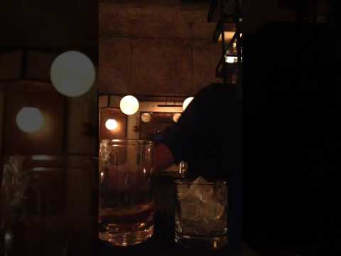 The creation of our pre prohibition Old Fashioned