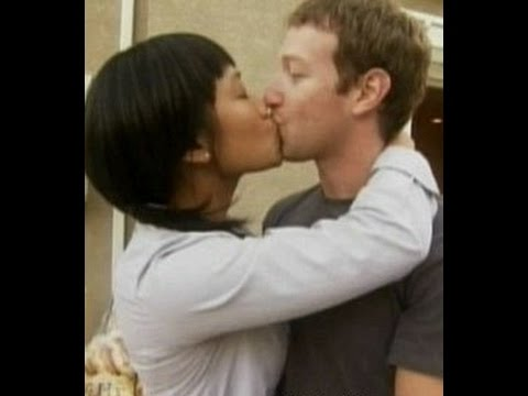 mark zuckerberg and priscilla chan kiss Photos