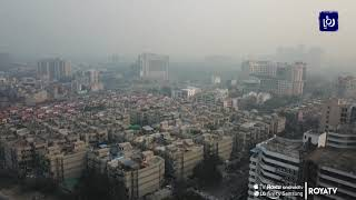ارتفاع مستوى تلوث الهواء في العاصمة نيودلهي  - (21-10-2019)