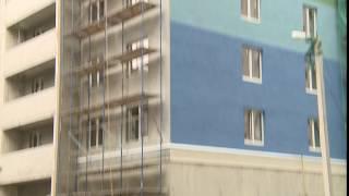 Со стройки на улице Сакко в Иванове на головы людям падает пенопласт(, 2016-05-24T12:27:30.000Z)