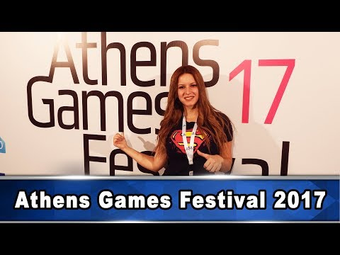 Μια βόλτα στο Athens Games Festival - 동영상