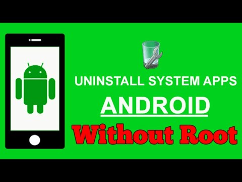 How to Uninstall Pre Install System Apps without rooting in Android