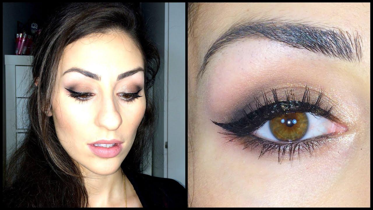 pics for gt light smokey eye makeup for brown eyes