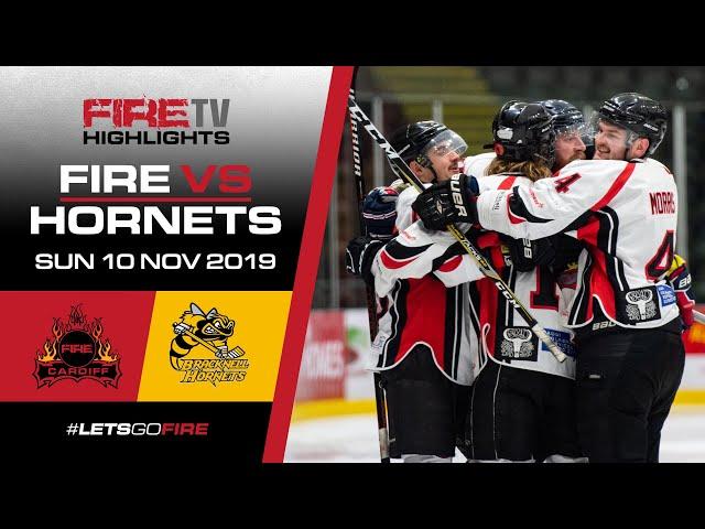 Cardiff Fire v Bracknell Hornets 10/11/19