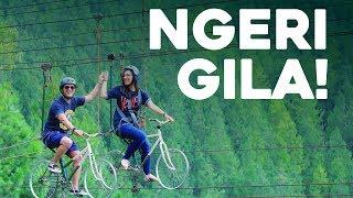 VLOGGG RECEH: Main Sepeda Di Jurang