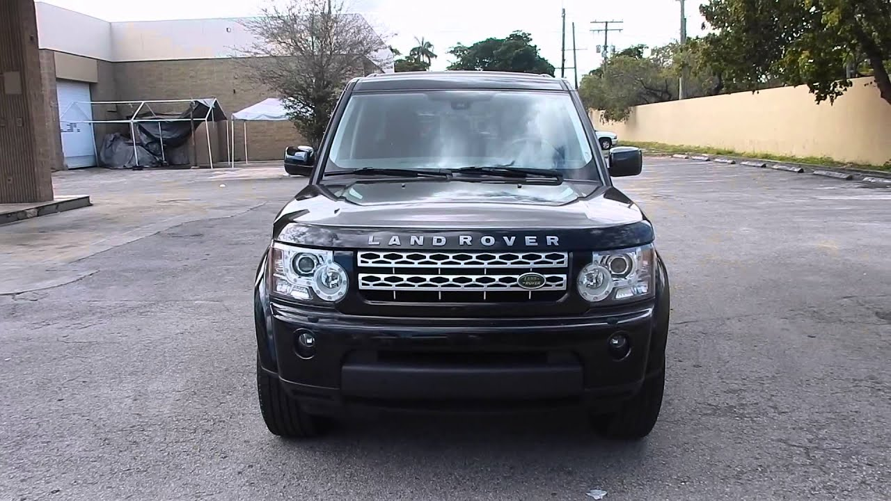 2010 Land Rover LR4 HSE LUX Available at Eurocar