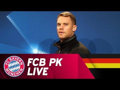 ReLive | FC Bayern Pressekonferenz mit Ancelotti und Neuer | Champions League