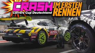 CRASH in Rennen 1 - Porsche Carrera Cup Deutschland | RING POLICE