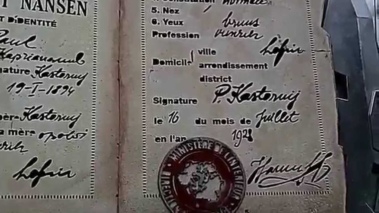 how to get nansen passport