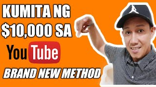 HOW TO MAKE $10,000 ON YOUTUBE WITHOUT RECORDING YOUR OWN VIDEOS | BRAND NEW METHO