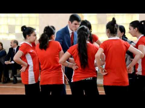 Abşeron rayonunda qızlar arasında voleybol üzrə rayon birinciliyi keçirildi
