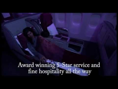 Essence of Doha, Qatar and Qatar Airways in 3 minutes