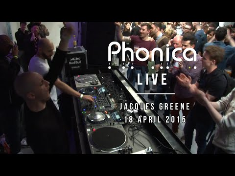 Jacques Greene at Phonica (RSD 2015)