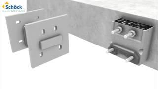 Schöck Isokorb® KS : Solutions pour nœuds constructifs béton-acier
