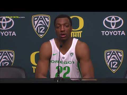 Mikyle McIntosh Following Oregon's Win Over UCLA