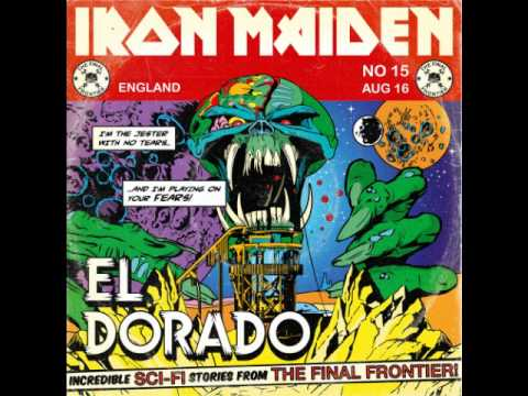 El Dorado - Iron Maiden - New Song